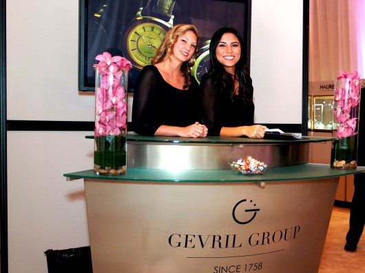 Gevril Group Couture Entrance
